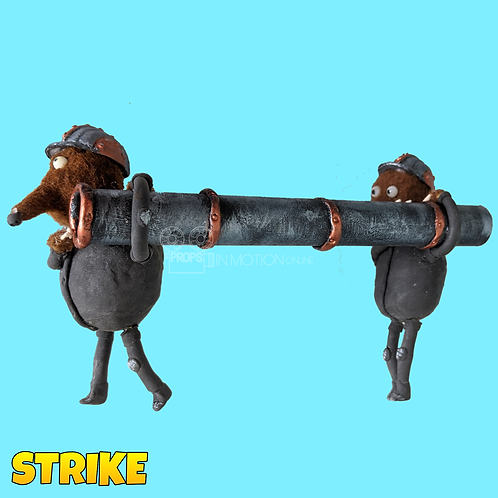 Strike (2018) 2 Miners Carrying Pipe (S43)
