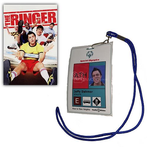 The Ringer (2005) Steve Barker/Jeffy Dahmor (Johnny Knoxville) ID (0629)