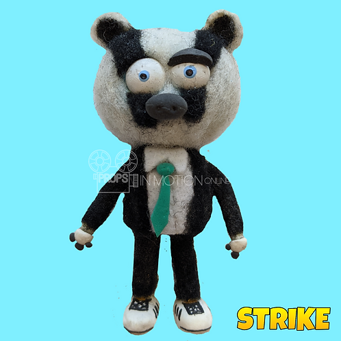 Strike (2018) Badger Kid Puppet (S164)