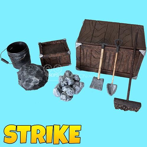 Strike (2018) Mine Prop Set (S298)