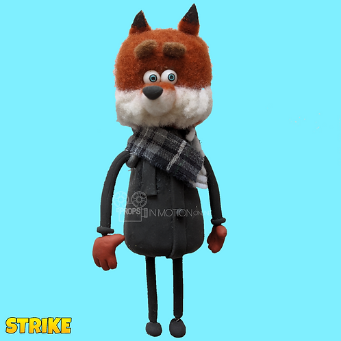 Strike (2018) Fox with Scarf puppet (S199)