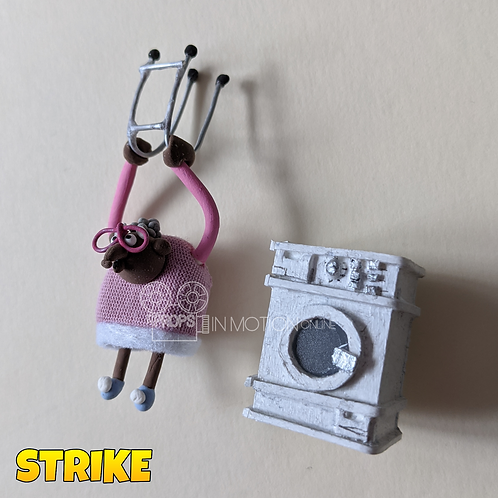 Strike (2018) Magnet Granny Mole + Washer (339)