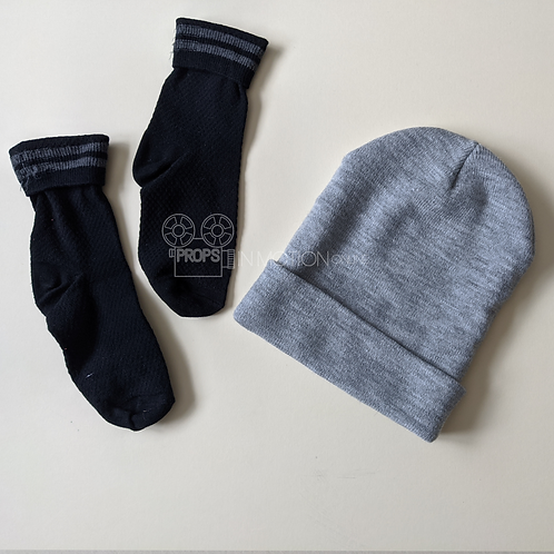 Childs Play (2019) Falyn (Beatrice Kitsos) Hat and Socks (0501)