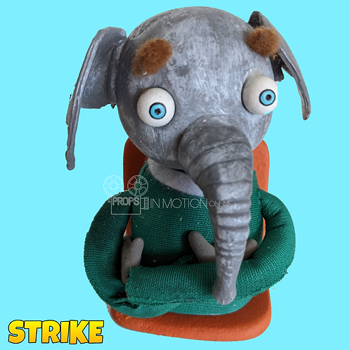 Strike (2018) Stadium Crowd Stop Motion Puppet with Seat (S12)