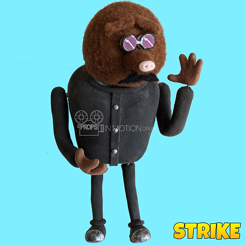 Strike (2018) Miner Stop Motion Puppet (S121)