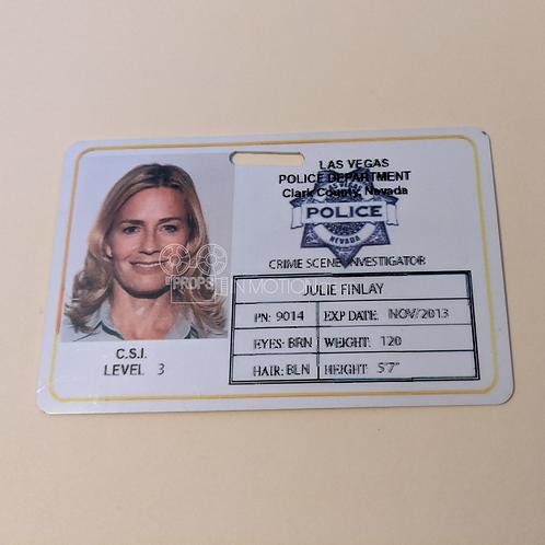CSI (TV) (2000-2015) Julie Finlay (Elisabeth Shue) ID (0538)