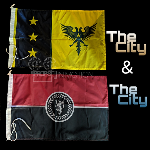 The City & The City (2018) Beszel + UL Qoma Flags