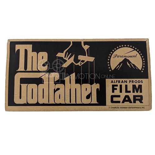 The Godfather (1972) Film Car Placard