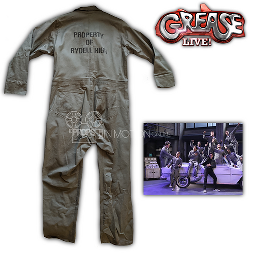 Grease Live (2016) Rydell High Coveralls/Jumpsuit
