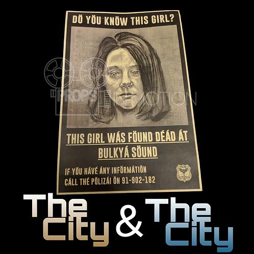 The City & The City (2018) Mahalia Geary Flyer