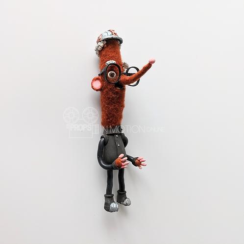 Strike (2018) Mine Choir Stop Motion Hero Puppet (0830)