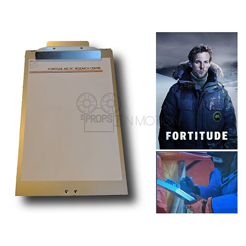 Fortitude (2015-2018) Vincent (Luke Treadaway) Screen Used Clipboard