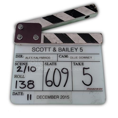Scott and Bailey (TV) (2011-2016) Insert Slate/Clapper (0627)