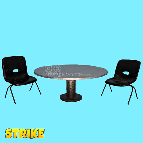 Strike (2018) Boss' Compound Table and Chairs (S128)