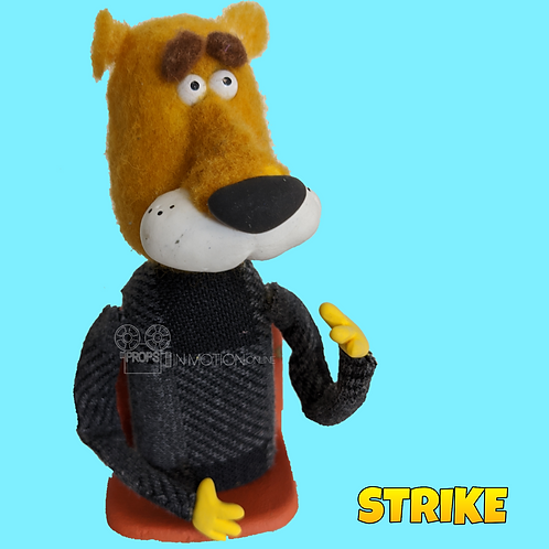 Strike (2018) Stadium Crowd Stop Motion Puppet with Seat (S36)