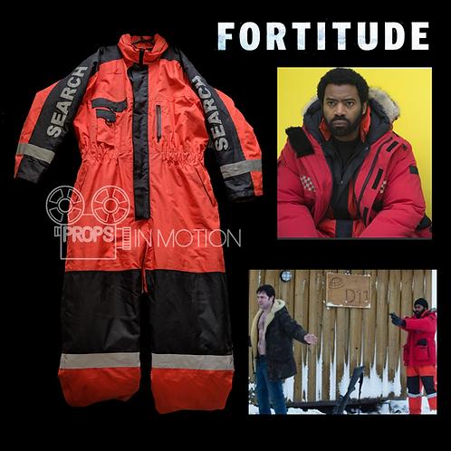 Fortitude (2015-2018) Frank Sutter (Nicholas Pinnock) Snowsuit (0556)