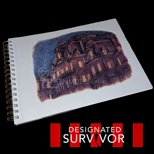 Designated Survivor (TV) (2016-2019) Sasha (Jamie Clayton) Sketchbook (0595)