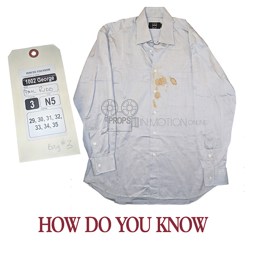 How do you know (2010) George (Paul Rudd) Shirt (0699)