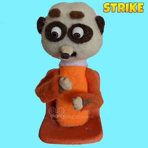 Strike (2018) Stadium Crowd Stop Motion Puppet with Seat (S25)