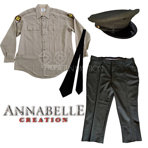 Annabelle Creation (2017) Officer Form (Adam Bartley) Costume