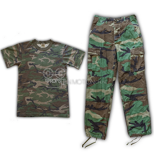 Charlie's Angels (2000) Dylan (Drew Barrymore) Camo Costume (0686)