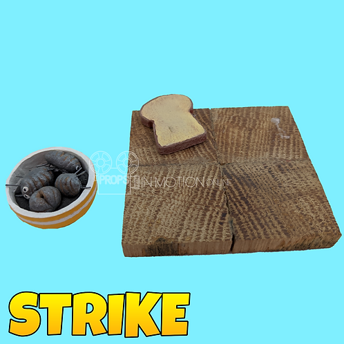 Strike (2018) Mungo House Chopping Board + Bowl (S231)