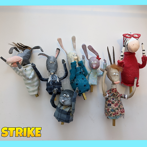 Strike (2018) 7 Small Puppets (S169)