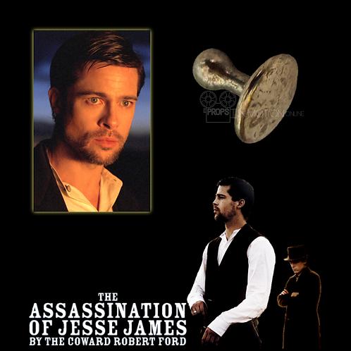The Assassination of Jesse James (2007) Jesse James (Brad Pitt) Collar Pin