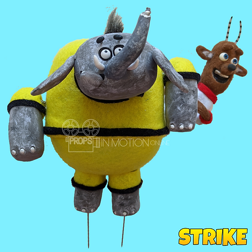 Strike (2018) Elephant + Captain Football Players (S158)