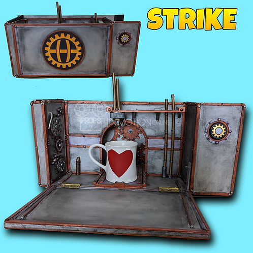 Strike (2018) Control's Oversized Insert Coffee Machine Gadget + Cup (S68)