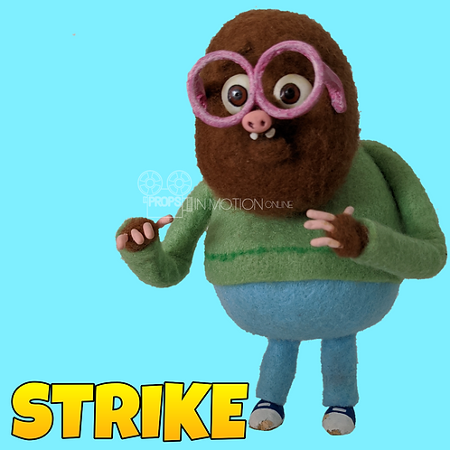 Strike (2018) Ryan Stop Motion Puppet (S221)
