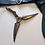 Thumbnail: Into the Badlands (TV) Iron Rabbit Clan Boomerang + Belt Holster (0724)