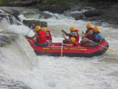 Rafting Ilha Parque de Aventuras