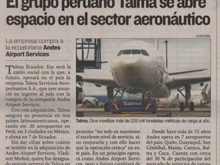 El grupo peruano Talma se abre espacio en el sector aeronáutico
