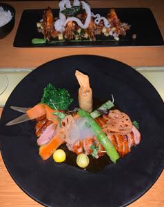 Dinner at Sontaya in Abu Dhabi