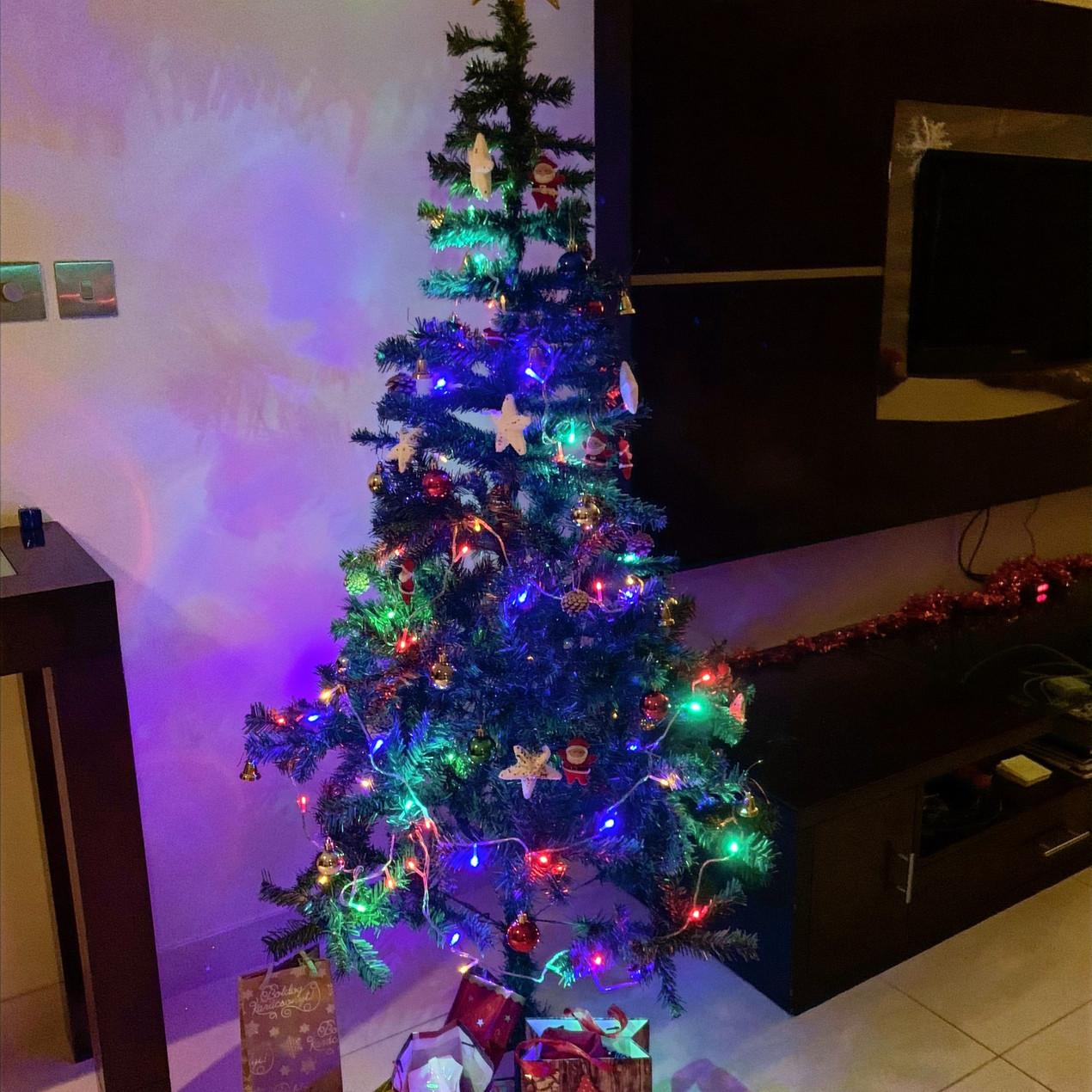Our Amazon Christmas Tree