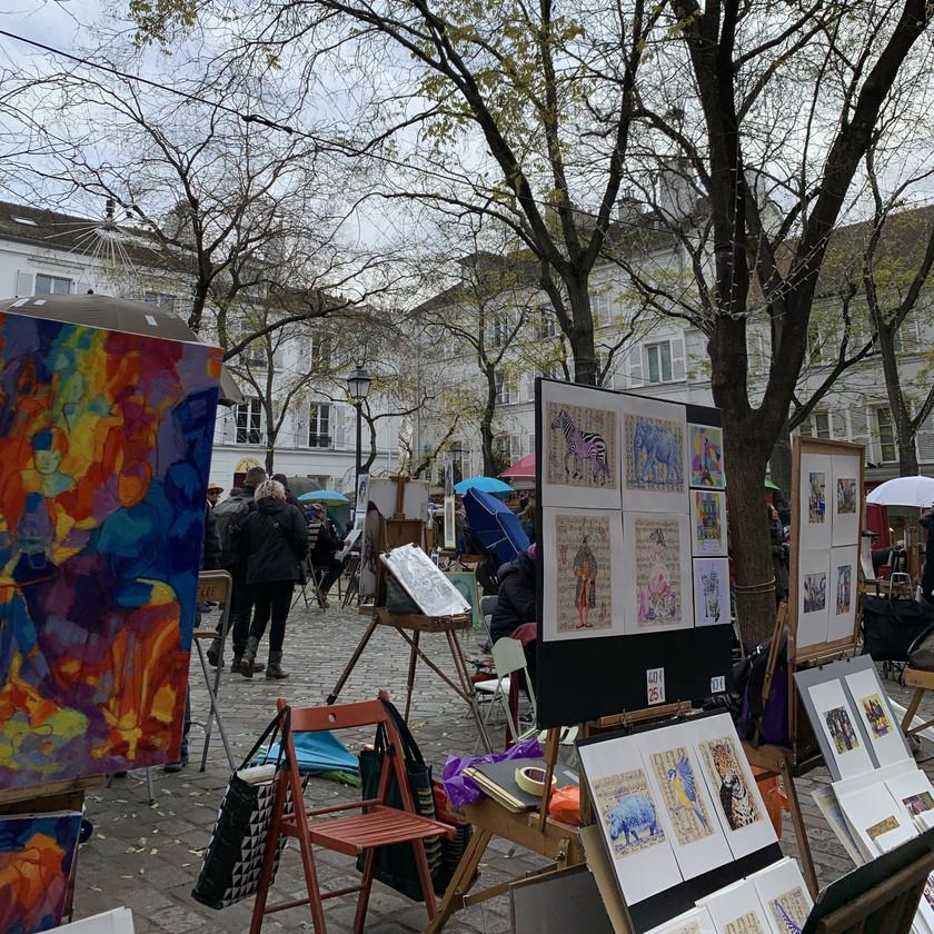 Painters at Place du Tertre