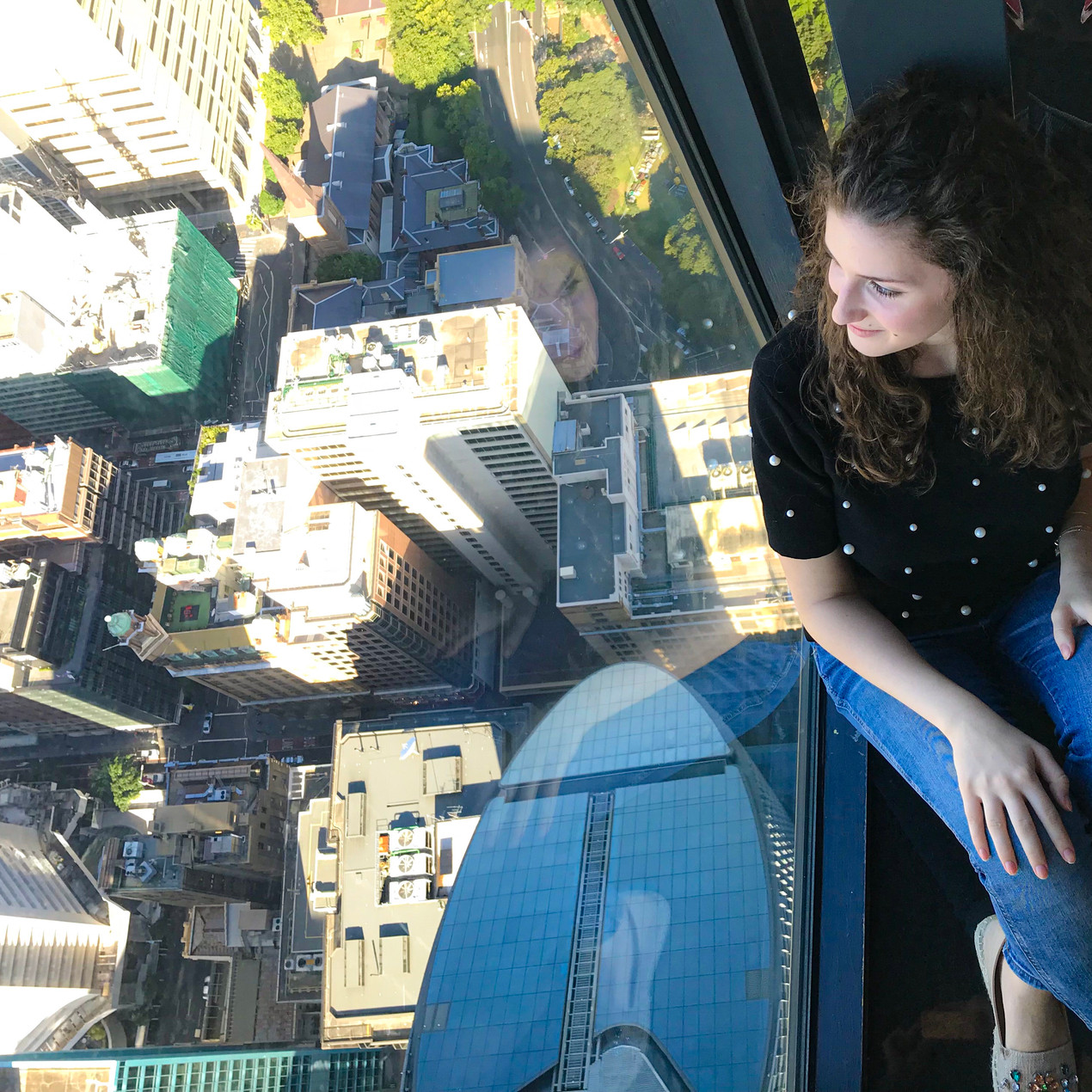 View from the Sydney Tower Eye