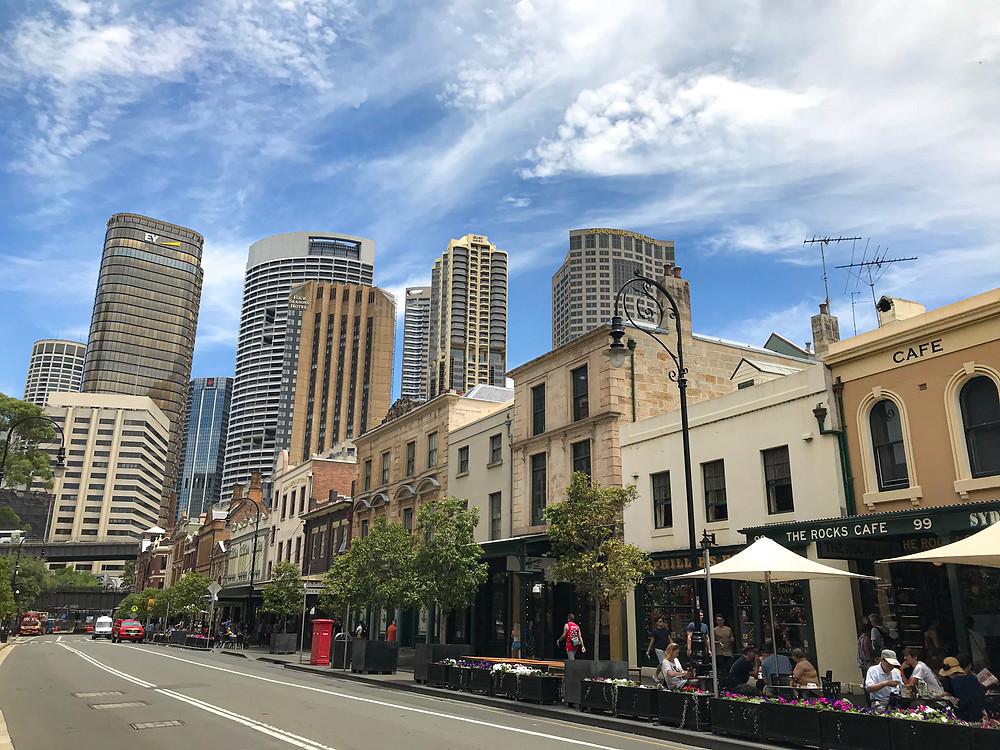The Rocks Historical Neighbourhood, Sydney
