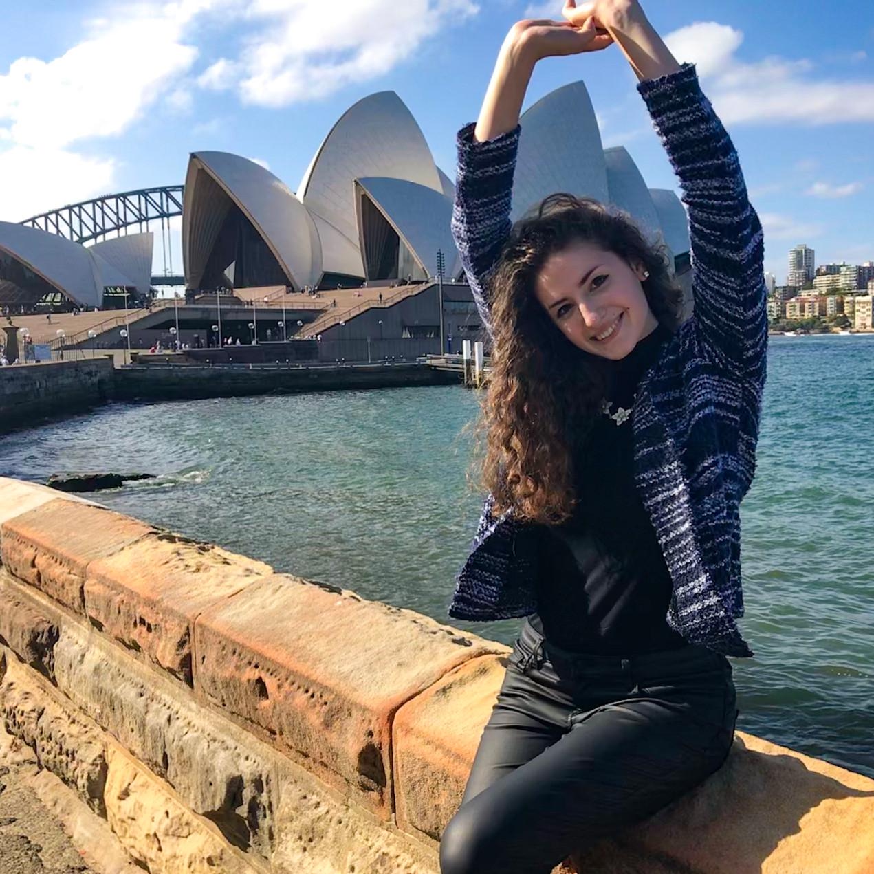 Walking by Sydney Opera House