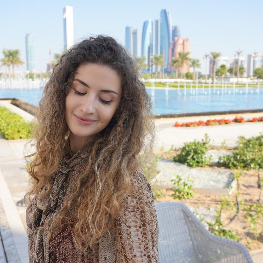 Giulia at Qasr al Watan