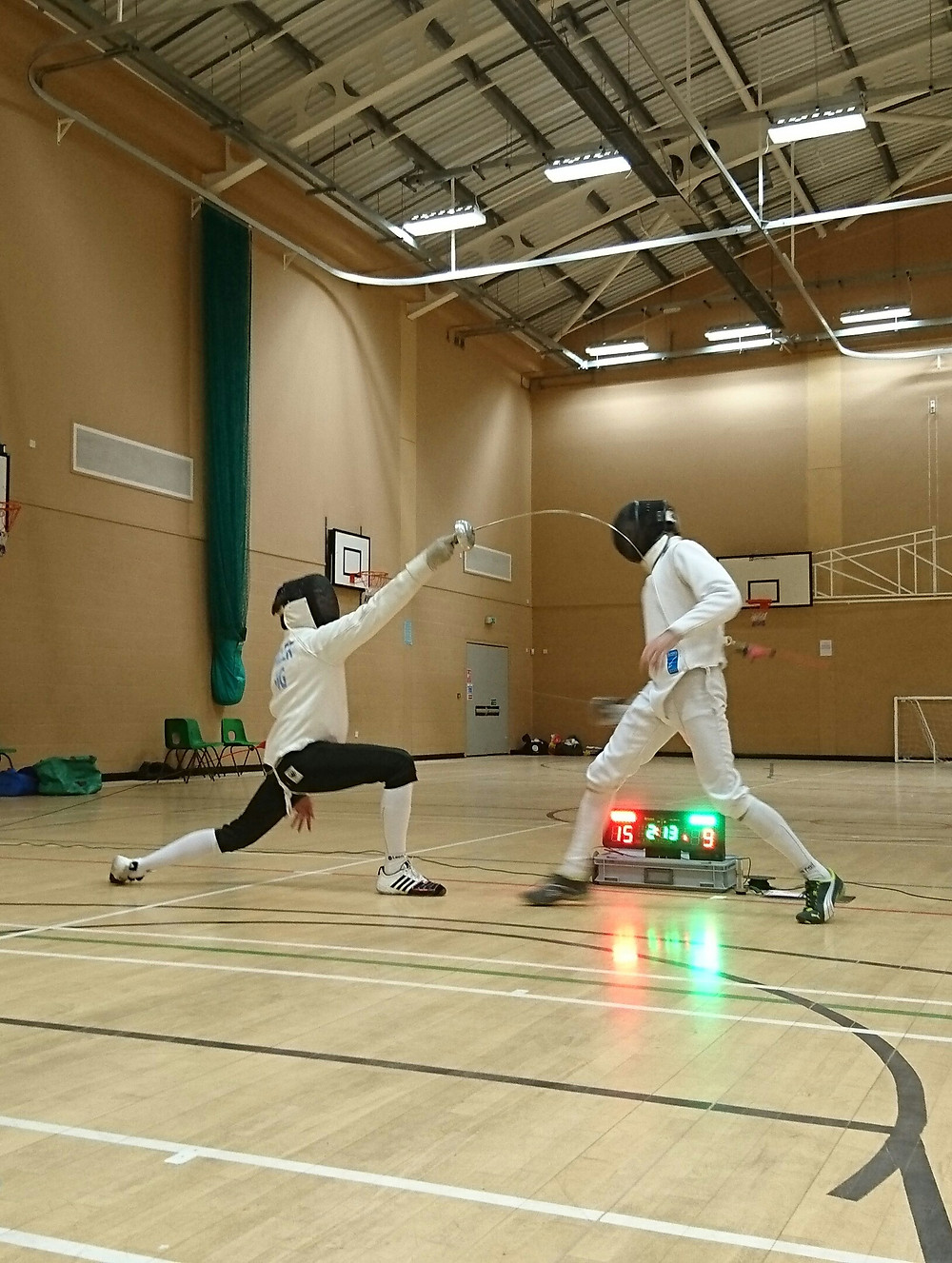 Devon Epee Championships 2017 Mens Final Match
