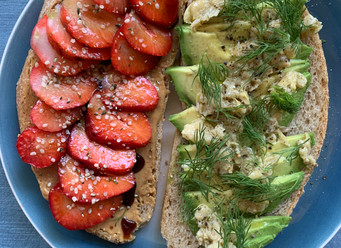 Sweet & Savory Toasts