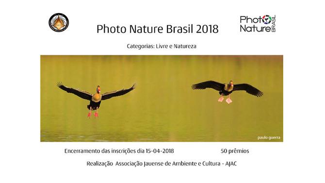 Quer ganhar livros com os temas: aves e natureza? Participe do 2º Photo Nature Brasil 2018