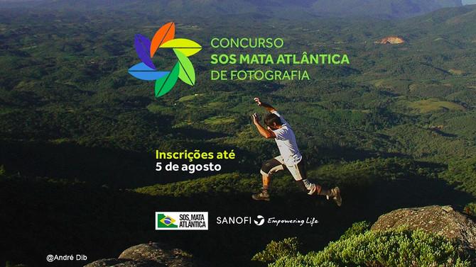 Concurso Fotográfico SOS Mata Atlântica, bora lá fotógrafos?