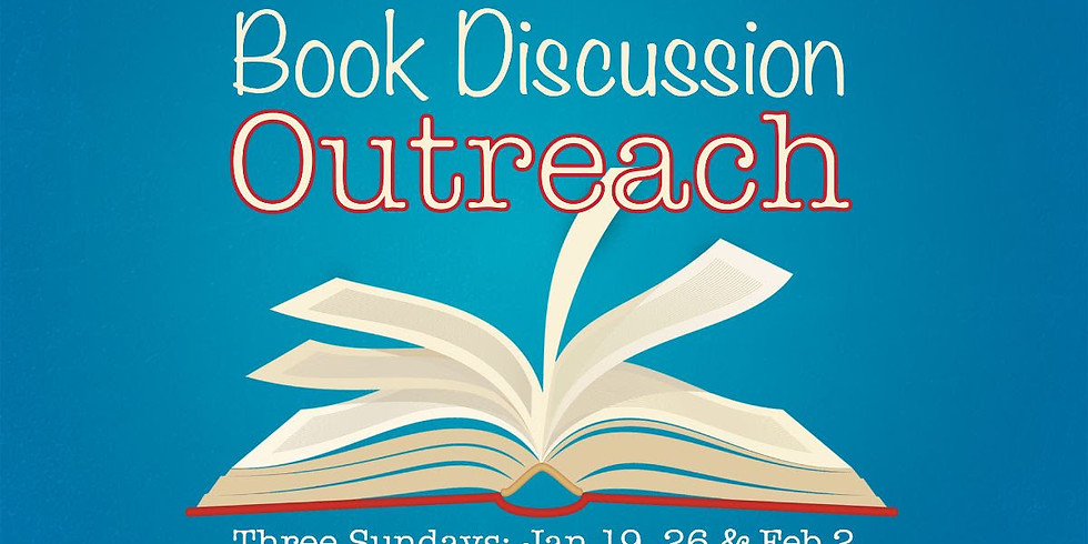Book Discussion Outreach