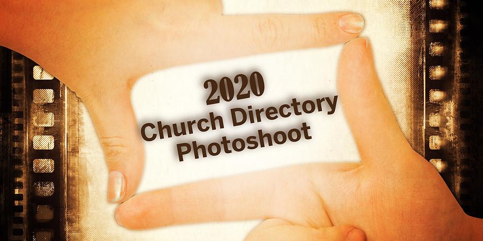 Church Directory Photoshoot