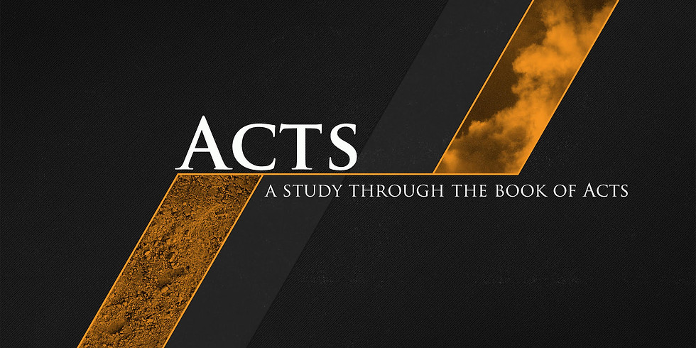 Summer Message Series: The Church and Acts