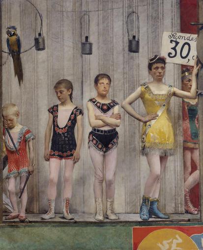 Grimaces et misère - Les Saltimbanques (acrobates)
