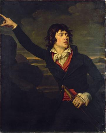 Portrait de Thadée Kosciuszko (1749-1817), héros de l'Indépendance polonaise.